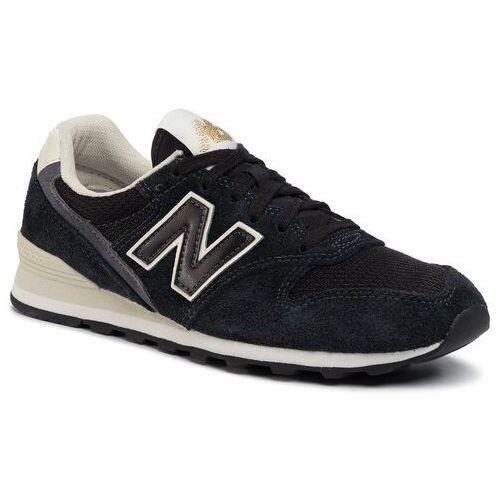 New balance Sneakersy - wl996vhb czarny