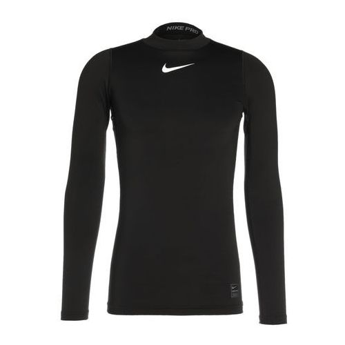 Nike Performance PRO WARM COMPRESSION MOCK Podkoszulki black/cool grey/white, 838046
