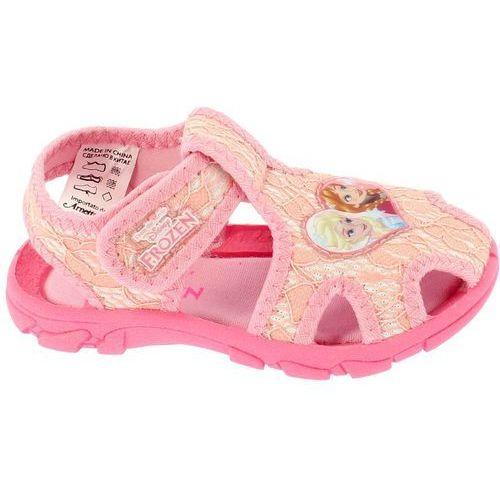 9d143e1c4b Zobacz ofertę Disney by Arnetta sandały dziewczęce Frozen 21 różowy