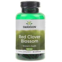 Swanson Koniczyna Czerwona (Red Clover Blossom) 430mg - 90 kapsułek
