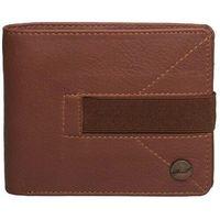 portfel REELL - Strap Leather Wallet Cognac (COGNAC)