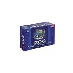 Tactic Pro poker 200 żetonów w aluminiowej walizce