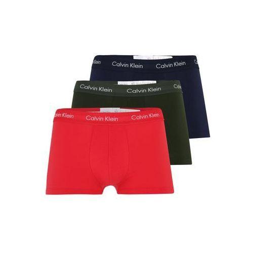 Calvin Klein Underwear Bokserki 'LOW RISE TRUNK' szafir / szmaragdowy / czerwony (8719115625085)