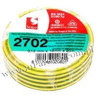 Scapa Taśma izolacyjna pcv 2702 19mm 20m żółto-zielona