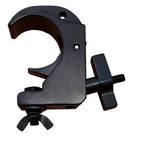 snap clamp/b - hak aluminiowy czarny na rurę fi 50 marki Duratruss