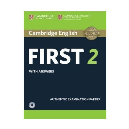 Cambridge English First 2. Student's Book with Answers + Audio (9781316503560)