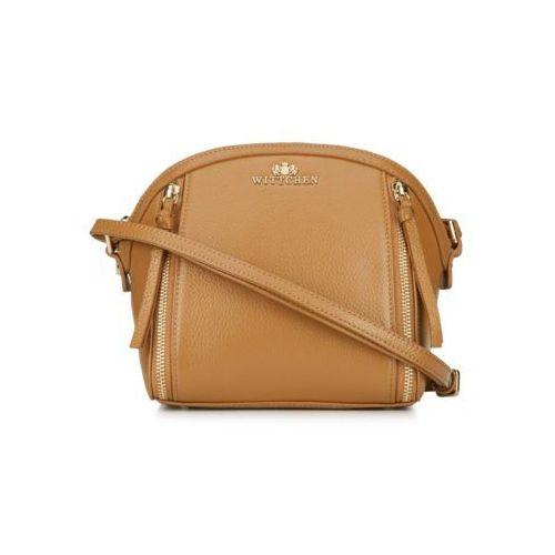 139fa3f6c870f Elegance mała torebka skórzana jasny brąz (Wittchen) - sklep ...