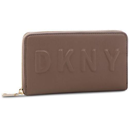 10db0ae2f69cf Duży portfel damski - tilly lg zip around r74qv103 desert des marki Dkny -  Foto produktu