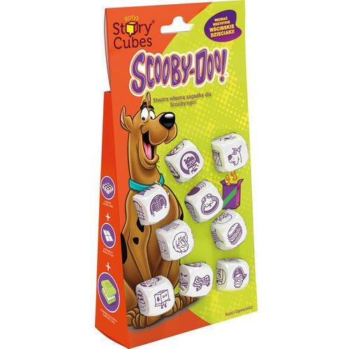 Rory o'connor Story cubes scooby doo
