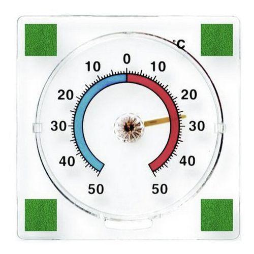 Termometr zaokienny Terdens bimetaliczny 77 x 77 mm