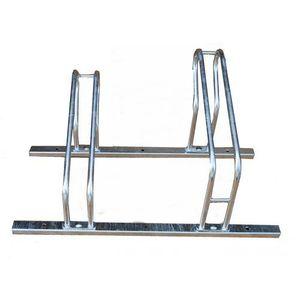 Skręcany stojak rowerowy na 2 rowery modułowy, skręcany stojak rowerowy marki Metalmix