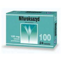 NIFUROKSAZYD 100mg x 24 tabletki