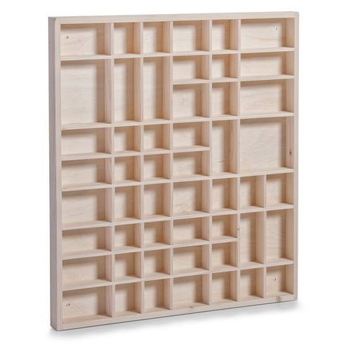 Drewniana gablotka - witrynka kolekcjonerska, ZELLER