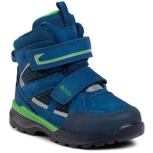 Śniegowce ECCO - Urban Hiker GORE-TEX 76061251646 Poseidon, kolor niebieski