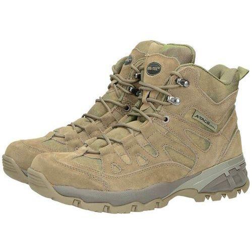 Mil-tec buty trekkingowe wysokie trooper a-tacs - a-tacs