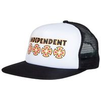 czapka z daszkiem INDEPENDENT - Bc Primary Mesh Back Black/White (BLACK-WHITE) rozmiar: OS