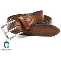 Brązowy pasek skórzany casual jeans miguel bellido 4975-40-1612-13