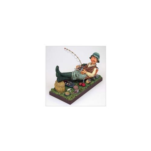 Figurka wędkarz - (fo85503) marki Guilermo forchino