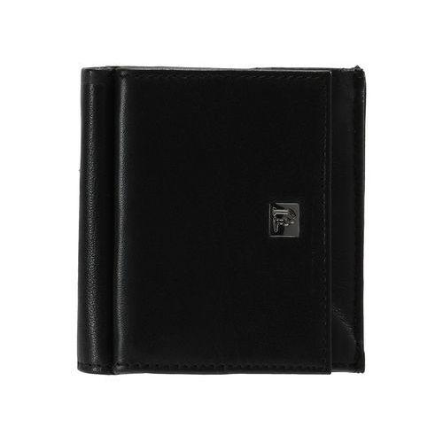 Trussardi Jeans WALLET TRIFOLD Portfel black, 71W00008 1Y090084