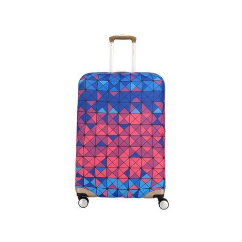 Pokrowiec zabezpieczający na walizkę średnią Travelite 318 Kwadraty
