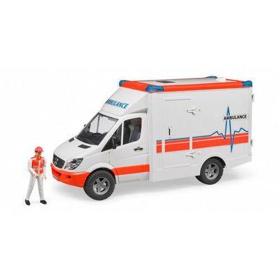 Ambulanse BRUDER InBook.pl