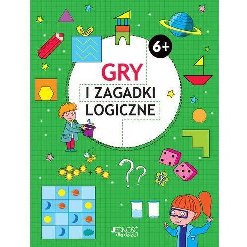 Gry i zagadki logiczne 6+ - Praca zbiorowa, praca zbiorowa
