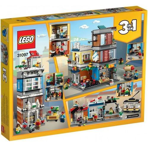 31097 SKLEP ZOOLOGICZNY I KAWIARENKA (Townhouse Pet Shop & Café) KLOCKI LEGO CREATOR