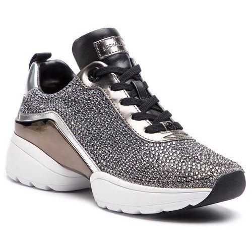 cebdb22da422b Sneakersy MICHAEL MICHAEL KORS - Jada Trainer 43R9JAFS5D Blk/Silver, kolor  szary - Fotografia