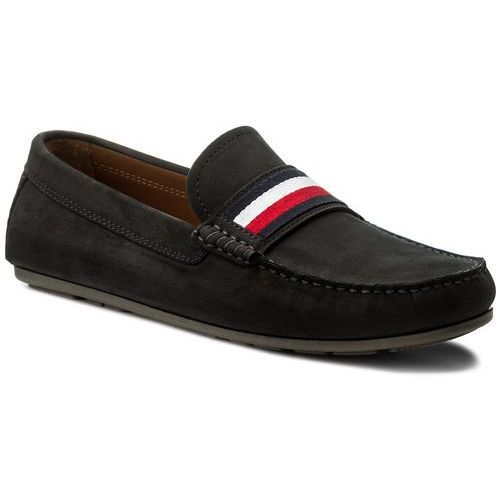 9c958a1cb7f7b Mokasyny - corporate tape loafer fm0fm01247 midnight 403 marki Tommy  hilfiger - zdjęcie