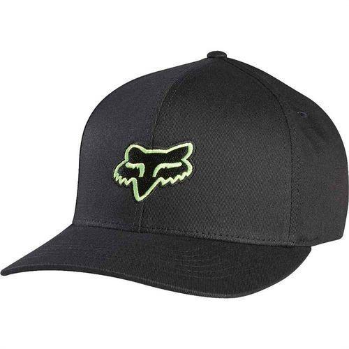 czapka z daszkiem FOX - Boys Legacy Flexfit Hat Blk/Grn (151) rozmiar: OS