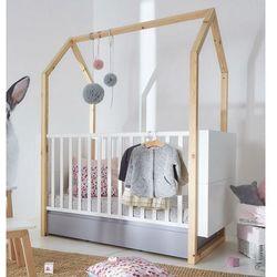 Rozsuwane łóżeczko dziecięce pinette marki Bellamy