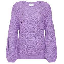 sweter liliowy marki Vila