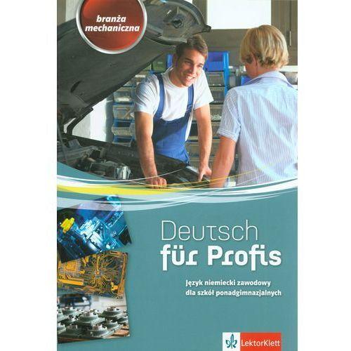 Język niemiecki Deutsch fur Profis ćwiczenia LO / Branża mechaniczna (112 str.)