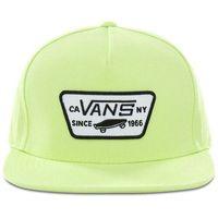 czapka z daszkiem VANS - Full Patch Snapback Sharp Green (SQ4)