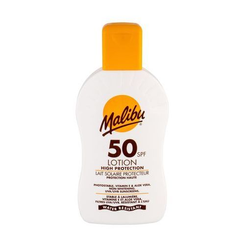 Malibu Lotion SPF 50 preparat do opalania ciała 200 ml unisex - Super oferta