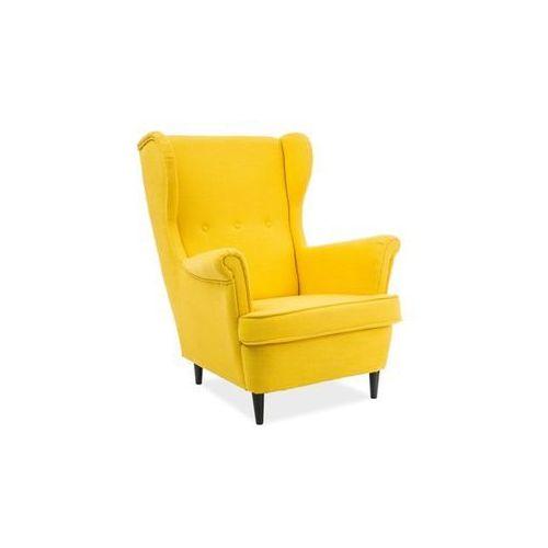 Fotel Lord Vidar żółty Signal