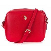 U.S. POLO ASSN. torebka crossbody Jones S Crossbody Bag, czerwona