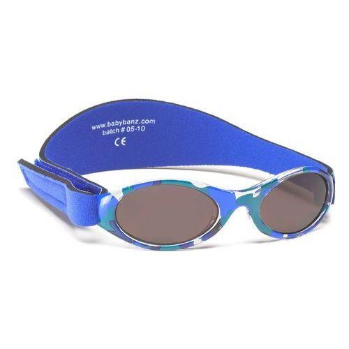 Banz Okulary przeciwsłoneczne dzieci 2-5lat uv400 - blue camo (9330696003735)