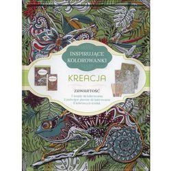 Inspirujące kolorowanki kreacja - firma księgarska j & k od 24,99zł darmowa dostawa kiosk ruchu marki Olesiejuk