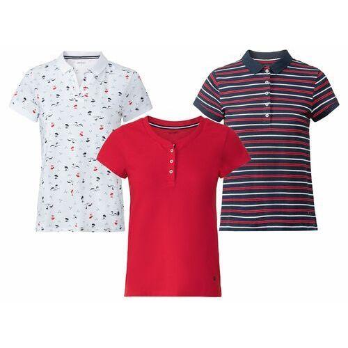 koszulka polo damska z bawełny, 1 sztuka marki Esmara®