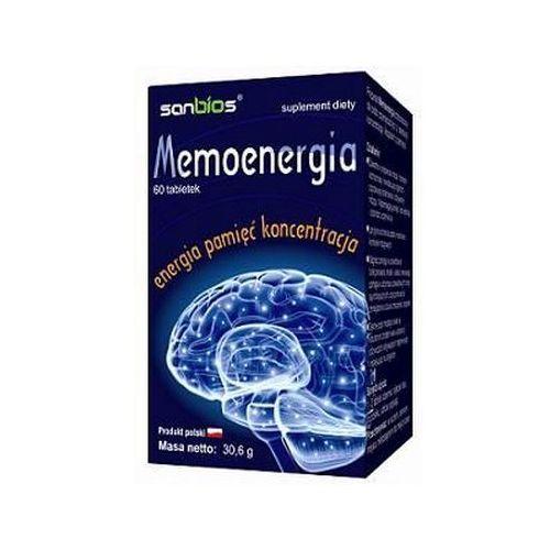 Tabletki Memoenergia (Lecytyna + Maca) 60 tabl