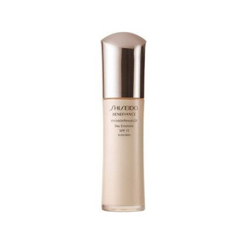 Shiseido benefiance wrinkle resist 24 day emulsion (w) emulsja do twarzy na dzień 75ml
