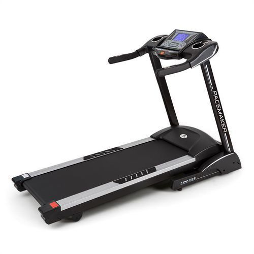 Capital sports Klarfit pacemaker x55 bieżnia 4km 3 km/6,5 km 22 km/h miernik pulsu aux