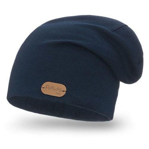 Wiosenna czapka PaMaMi - Granatowy - Granatowy, kolor niebieski