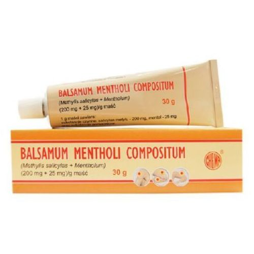 Balsamum Mentholi Compositum maść (0,2g+0,025g)/g 30 g