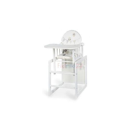 Klupś krzesełko agnieszka iii sówki białe