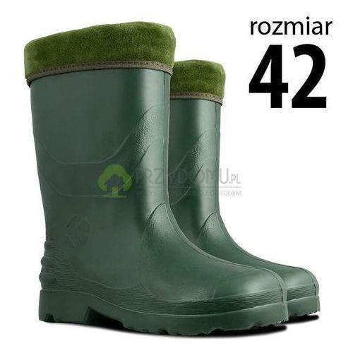 Kalosze EVA damskie zielone rozm.42, kolor zielony