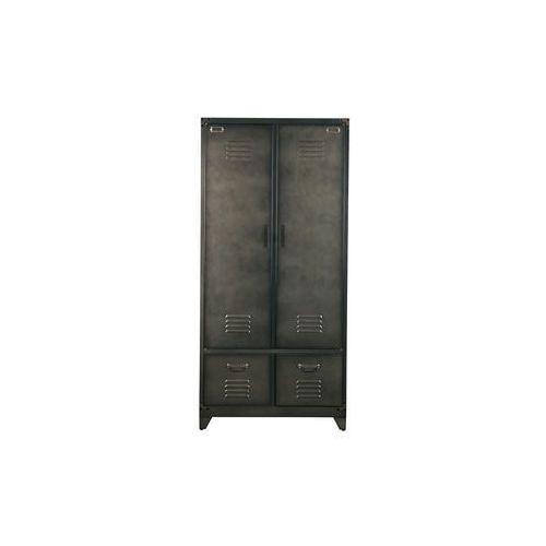 Aktualne Szafa metalowa czarna - 390907-zw (Woood) recenzje, opinie - ceny XA44