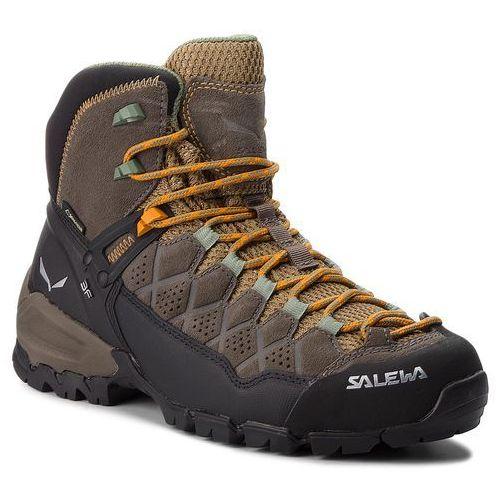 Trekkingi SALEWA - Alp Trainer Mid Gtx GORE-TEX 63433-7505 Walnut/Butterscotch, w 2 rozmiarach
