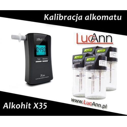 Kalibracja alkomatu Alkohit X35 + Świadectwo kalibracji